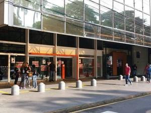 Agência do Banco Itaú na Praça José Bonifácio em Piracicaba (Foto: Claudia Assencio/G1)
