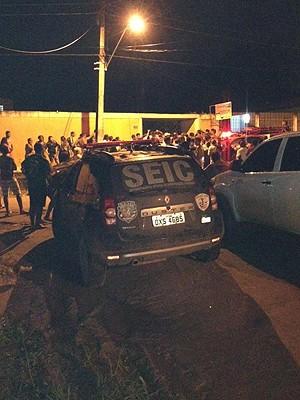Suspeitos foram detidos em uma chácara em São Luís (MA) (Foto: Divulgação/SSP-MA)
