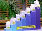 Brasileiro consome, em média, mais que o dobro de sal do que deveria