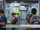 Brasileiros procuram lotéricas para tentar a sorte na Mega-Sena da Virada