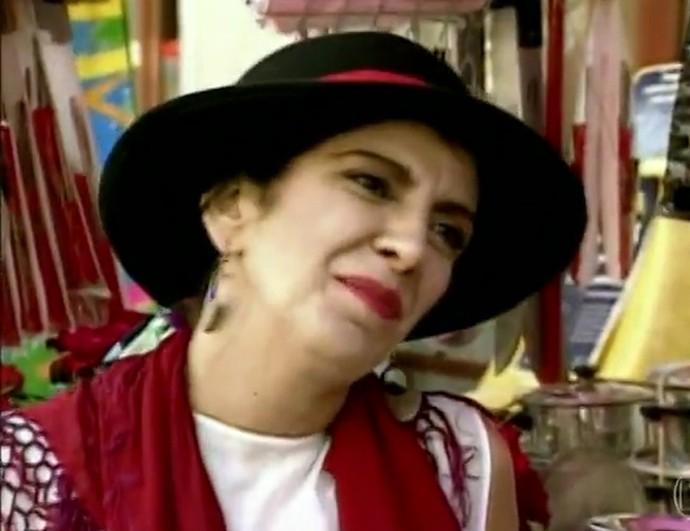 Marília Pêra fez Genuína em Lua Cheia de Amor (Foto: TV Globo)