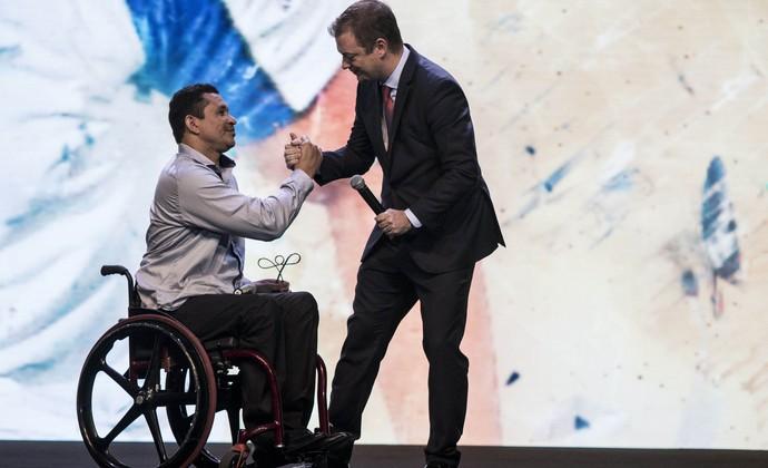 Clodoaldo Silva Prêmio Paralímpicos (Foto: Daniel Zappe/MPIX/CPB)