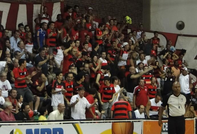 Torcida do Flamengo fez a diferença (Foto: Fabio Leme)