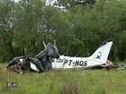 Queda de avião provoca a morte de duas pessoas no Rio Grande do Sul