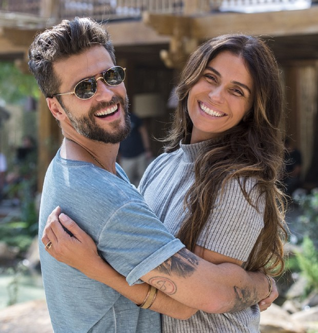 Bruno Gagliasso e Giovanna Antonelli interpretam Mário e Alice, protagonistas de 'Sol Nascente' (Foto: Divulgação/TV Globo)