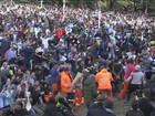 Em Buenos Aires, Praça San Martín lota para a festa dos torcedores