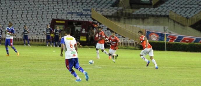 River-PI x Fortaleza - Copa do Nordeste (Foto: Abdias Bideh/GLOBOESPORTE.COM)