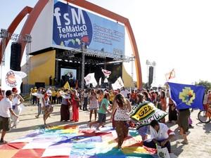Fórum Social Temático Porto Alegre (Foto: Ivo Gonçalves/Divulgação PMPA)
