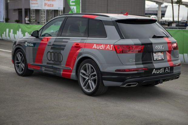 Audi Q7 com inteligência artificial (Foto: Divulgação)