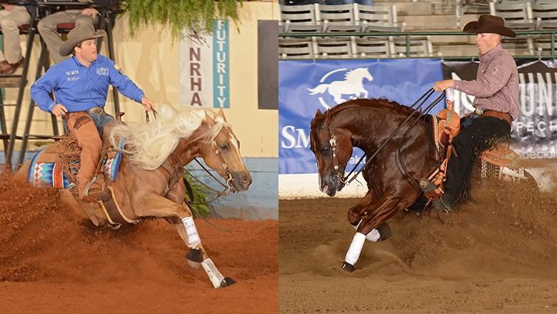 Casey Deary e Jason Vanlandingham, dois dos nomes fortes da Rédeas no mundo, estarão competindo no Brasil (Foto: NRHA)