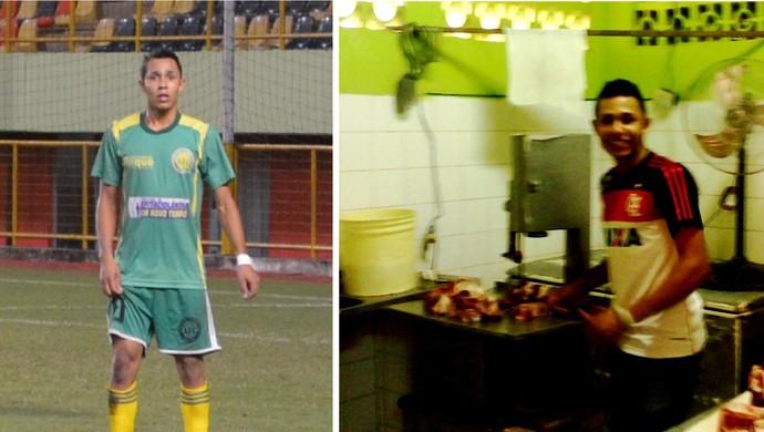 Jô atacante do Alto Acre (Foto: GloboEsporte.com)