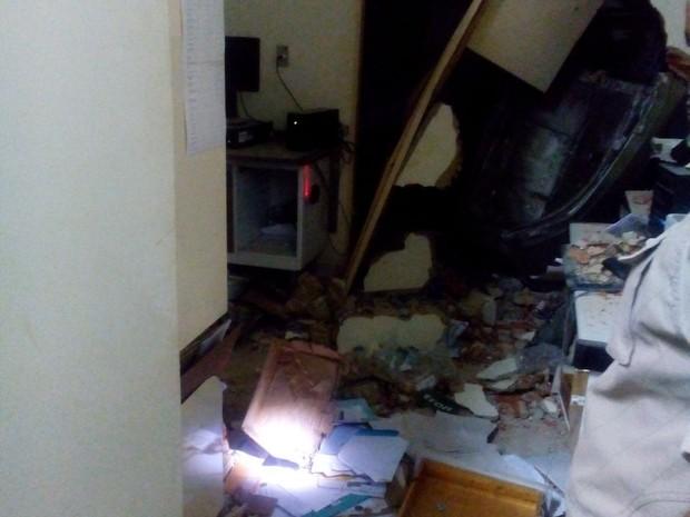 Agência dos Correios é alvo de criminosos em Wanderlândia (Foto: Divulgação)