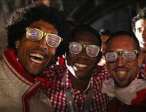 Festa Bayern de Munique campeão (Foto: Reprodução/Site Oficial do Bayern de Munique)