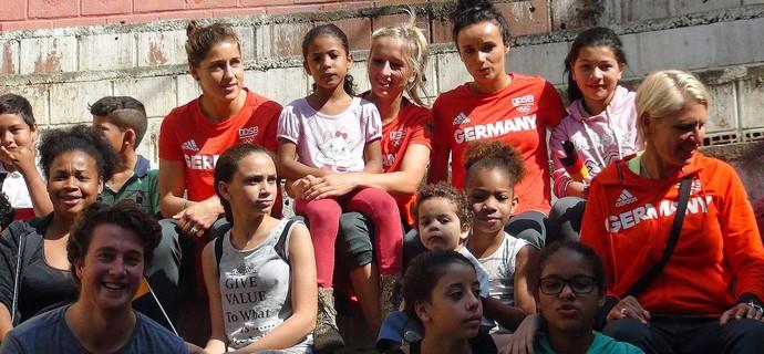 Seleção feminina alemanha olimpiada (Foto: Divulgação)