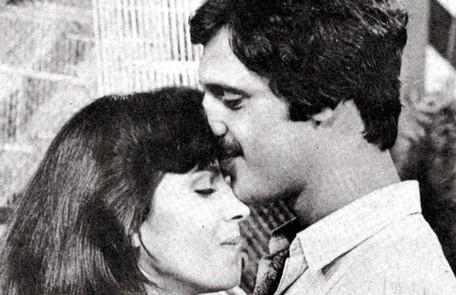 Yoná Magalhães e Antonio Fagundes interpretaram Zélia e Lua Vianna na primeira versão de 'Saramandaia' Reprodução