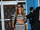 Beyoncé mostra barriga definida e afasta rumores de gravidez