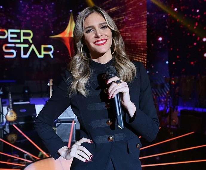 Durante o SuperStar a apresentadora usou looks para todos os estilos (Foto: Isabella Pinheiro / Gshow)