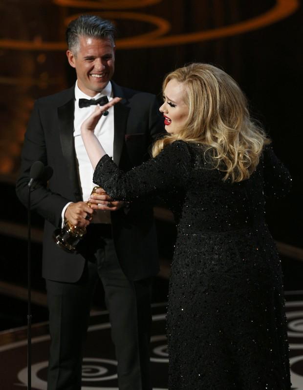 Adele no Oscar (Foto: Reuters/Agência)