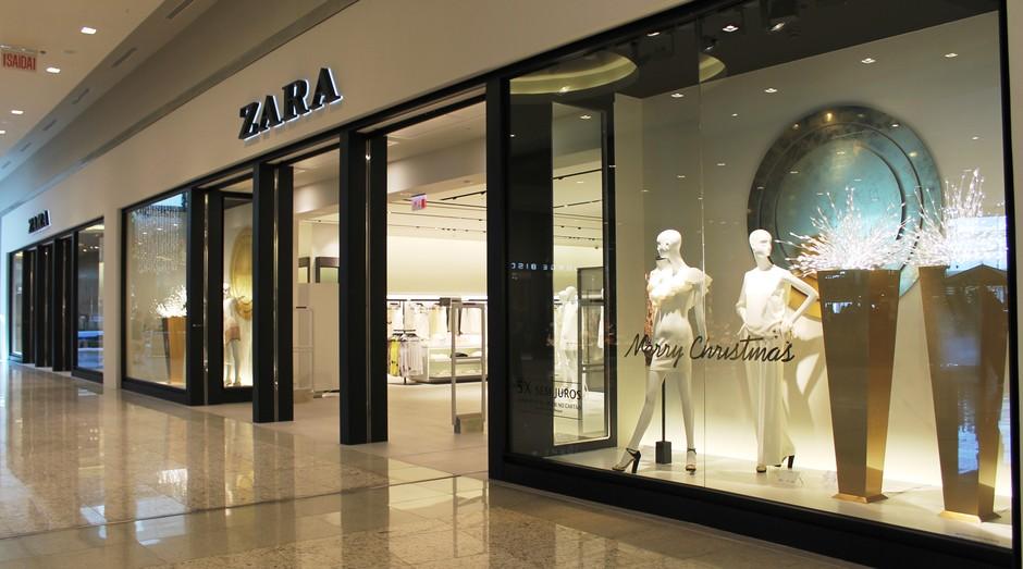 Loja da Zara (Foto: Divulgação)
