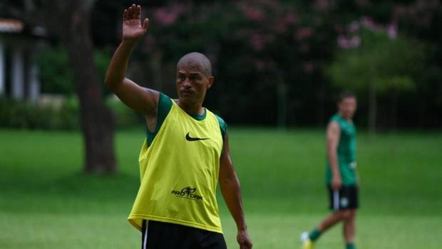 Alex durante treino do Coritiba na pré-temporada em Foz do Iguaçu (Foto: Divulgação / Facebook Coritiba)