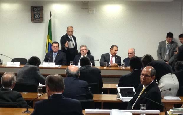 CPI mista será presidida pelo senador Vital do Rêgo (PMDB-PB); Deputado Marco Maia (PT-RS) será o relator. (Foto: Priscilla Mendes / G1)
