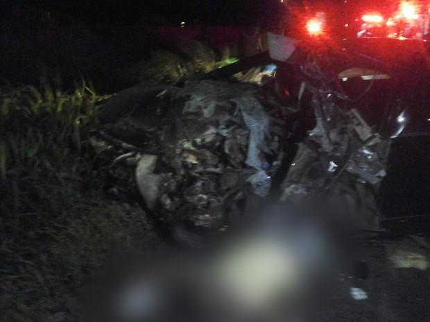 Acidente resultou em uma morte no Campo de Perizes (Foto: Divulgação / PRF-MA)