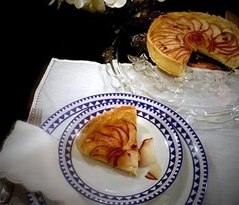 Torta de peras e camembert  (Foto:  Arquivo pessoal)