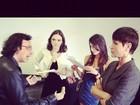 Xuxa posta foto em bastidores de 'Cheias de Charme'