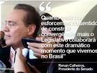 Agenda de Renan gera tensão entre Câmara e Senado; confira frases