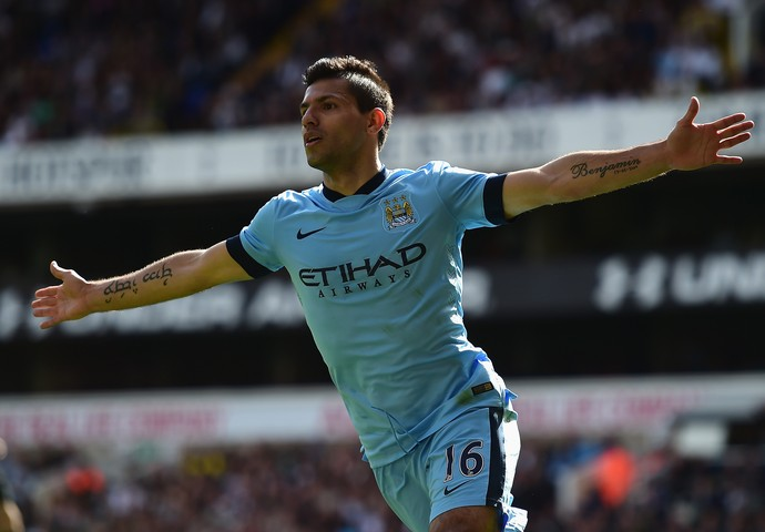 Agüero gol Manchester City (Foto: Getty Images)