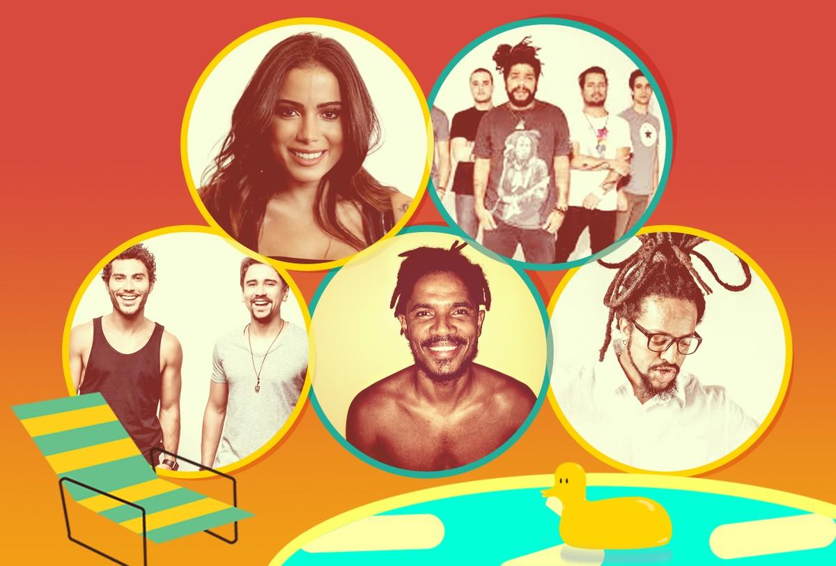 Segunda-feira (6)  dia de luau na Casa TVZ Vero! (Foto: Multishow)