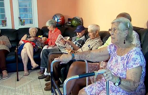 Série 'Envelhecendo' mostra as virtudes e consequências de uma vida longa (Foto: Reprodução EPTV)
