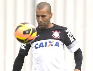Emerson treino Corinthians (Foto: Daniel Augusto Jr. / Ag. Corinthians)
