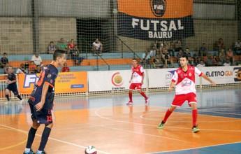 Bauru Futsal recebe o Guaratinguetá em duelo direto na Liga Paulista