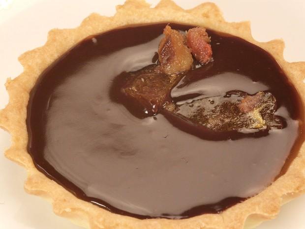 Que Seja Doce - Ep 17 - Festa da Firma - Tartelete de caramelo com bacon (Foto: GNT/Adalberto Pygmeu)