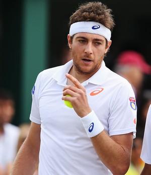 Purav Raja e Marcelo Demoliner tênis em Wimbledon (Foto: Getty Images)