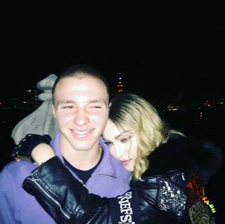 Madonna se declara para o filho Rocco (Foto: Reprodução/Instagram)