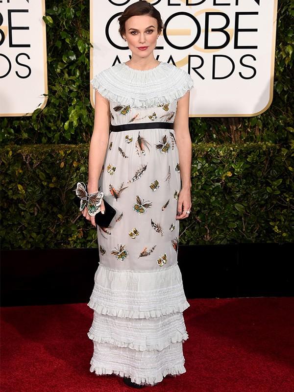 Globo de Ouro 2015 - Keira Knightley (Foto: Agência AFP )