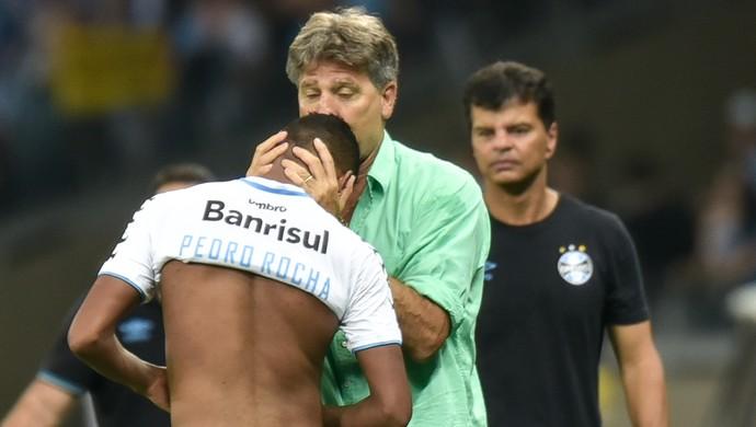 Pedro Rocha Renato Atlético-MG x Grêmio (Foto: Agência Estado)