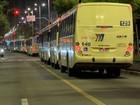 Grupo protesta contra aumento da passagem de ônibus em Juiz de Fora
