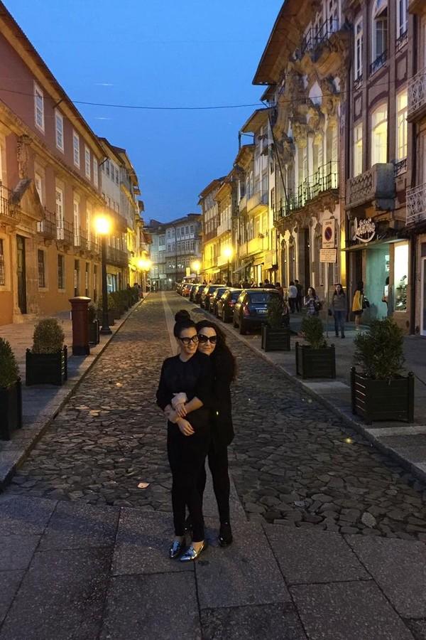 Leticia Lima e Ana Carolina em Portugal (Foto: Reprodução/Instagram)