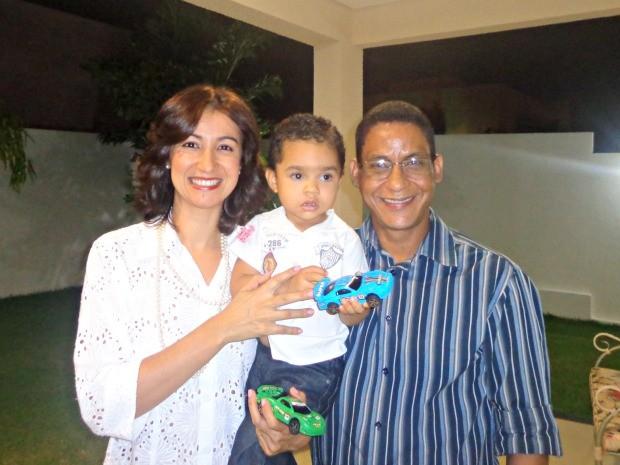 Joide e Édna estão casados há 14 anos. (Foto: Pollyana Araújo/ G1)