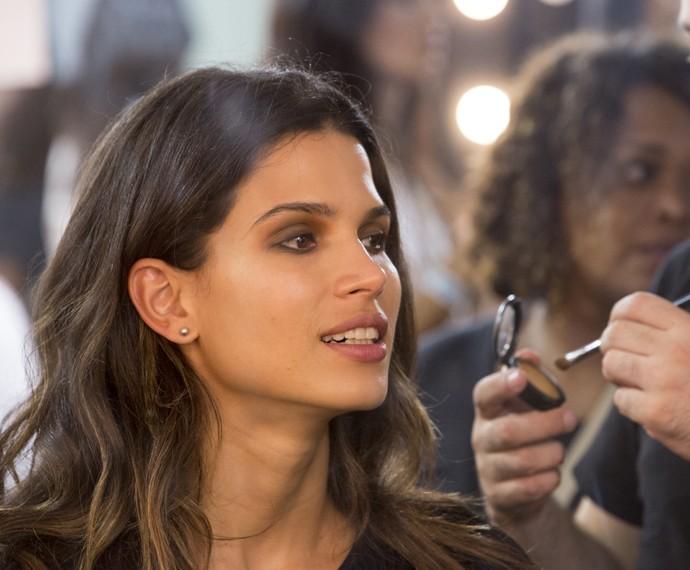 Raica Oliveira também brilho no desfile de 'Verdades' (Foto: Felipe Monteiro/ Gshow)