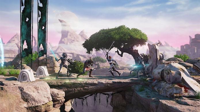 Shadow of the Beast: Aarbron participar de confrontos viscerais (Foto: Divulgação/Sony)