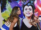 'Quando o vejo, eu cumprimento', diz Bahls sobre ex em camarote de show