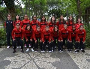 Time feminino do Atlético-PR (Foto: Divulgação/Site oficial do Atlético-PR)