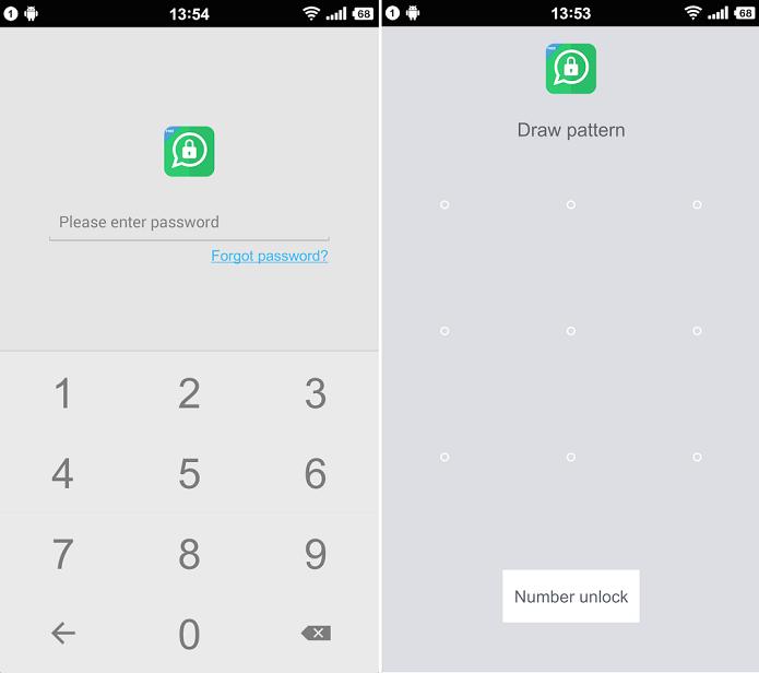 Lock for WhatsApp bloqueia o WhatsApp com senha (Foto: Divulgação)