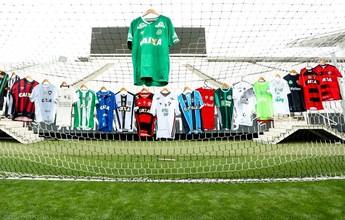 No Esporte Espetacular: camisas dos times da Série A homenageiam Chape