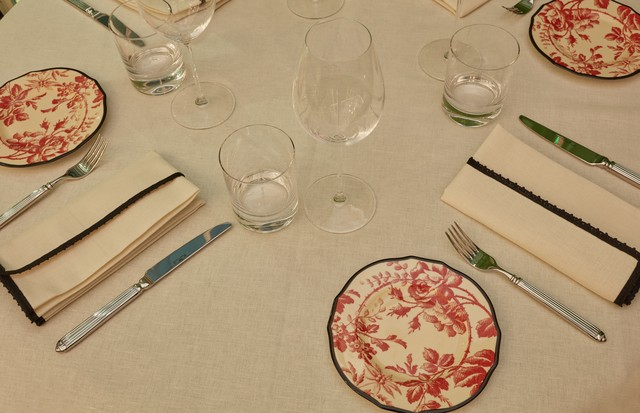 Table setting at the Gucci Osteria da Massimo Bottura (Foto: GUCCI)