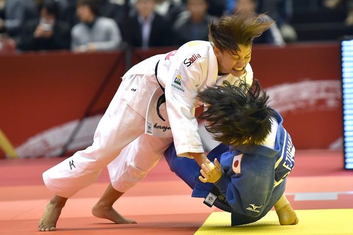 Sarah Menezes Judo Grand Slam Toquio (Foto: Atsushi Tomura / Getty Images)